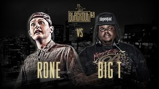 KOTD - Rap Battle - Rone vs Big T | #Blackout5