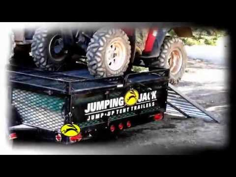 Ultimate Hunting tent trailer - Jumping Jack by Tines Up