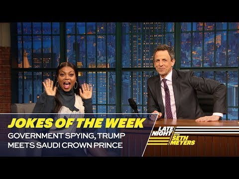 See Seth Meyers's Favorite Jokes of the Week!