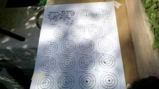 PRACTICA DE BENCH REST CON EL AIR ARMS S400 MPR FT