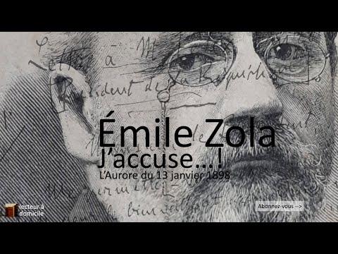 J Accuse Lettre Ouverte D Emile Zola Youtube