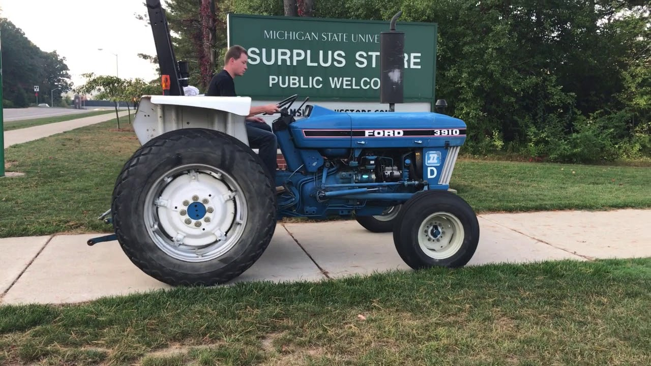 hight resolution of ford 3910 utility tractor