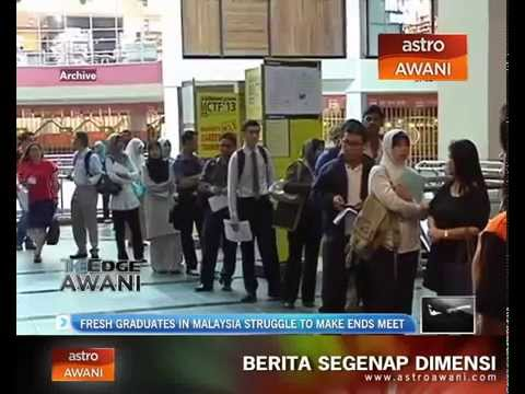 Fresh graduates in Malaysia struggle to make ends meet