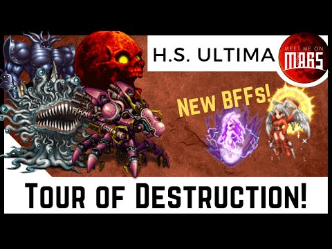 High Seraph Ultima TOUR OF DESTRUCTION! | Chaos Wave Chaining Goddess | FFBE