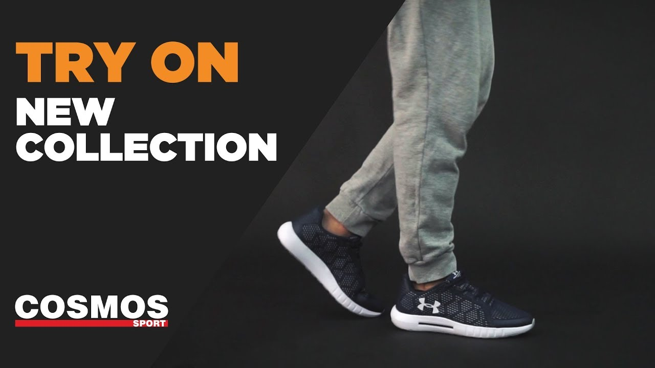 TRY ON | Under Armour Micro G Pursuit SE | Cosmos Sport