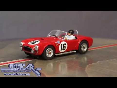 Carrera Slot Car Shelby AC Cobra 289 16 1963 Sebring Slotcar 27412