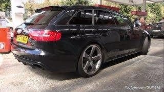 Audi RS4 Avant B8 - Lovely sounds!