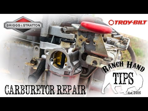 briggs-&-stratton-carburetor-repair-(troy-built-pressure-washer-repair-part-1)---ranch-hand-tips