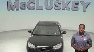A97844XT 2009 Hyundai Elantra GLS FWD 4D Sedan Test Drive, Review, For Sale -
