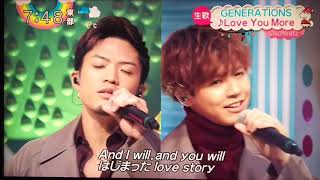 zip! GENERATIONS from EXILE TRIBE?Love You More