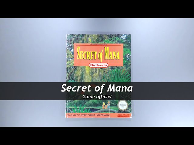 Secret of Mana - Guide officiel