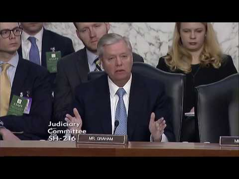 Breaking: Lindsey Graham DESTROYS TRUMP At Neil Gorsuch's Senate confirmation hearing