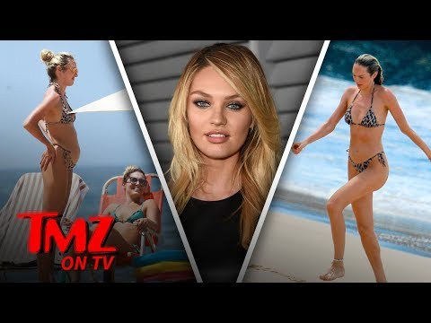 Candice Swanepoel Is Pregnant And Hotter Than Ever  TMZ TV