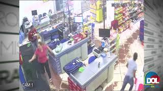 Vídeo mostra momento em que segurança é executado em supermercado