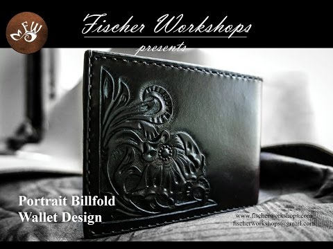 Make Your Own Leather Billfold Project And Tutorial