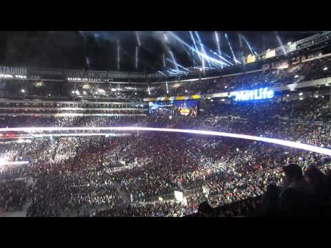 WWE Wrestlemania 29 Attandance Record and John Cena Entrance MetLife Stadium 4/7/2013 thumbnail