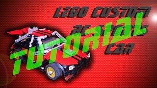 Lego Custom RC Sports Car *Tutorial*