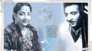 Geeta Dutt, G M Durrani, Pramodini Patkar - Raghupati raghav raja ram : non Film