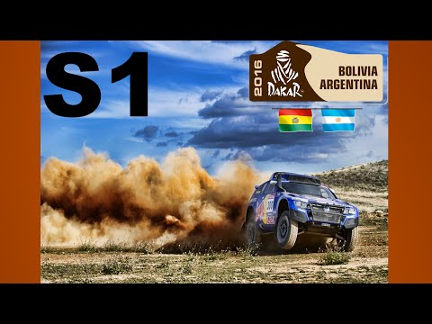 Dakar Rally Stage 1 Highlights 2016 {720p 60fps}
