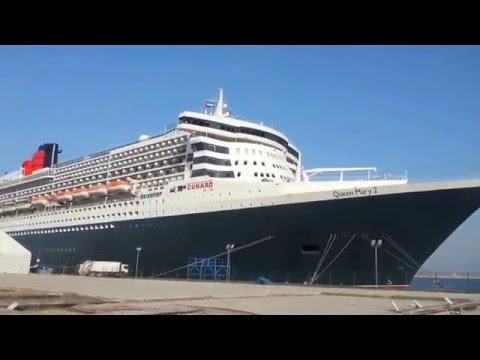 Queen Mary 2 Port Rashid Dubai