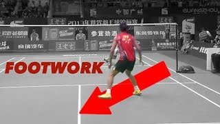 LIN DAN'S Legendary FOOTWORK : Forehand anticipation thumbnail