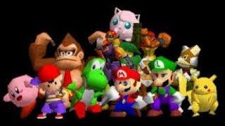Super Smash Bros :modo solo con Yoshi