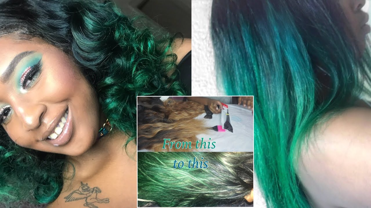 Jvh Hair How To Fix Over Bleached Knots Color Hair Emerald Hair