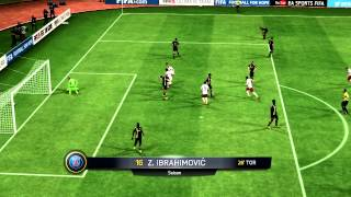 Kry The God - Sick FIFA 15 Goal with Ibrahimovic