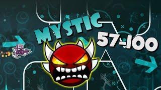Mystic (EndLevel & More) 49% / 57 - 100% Geometry Dash