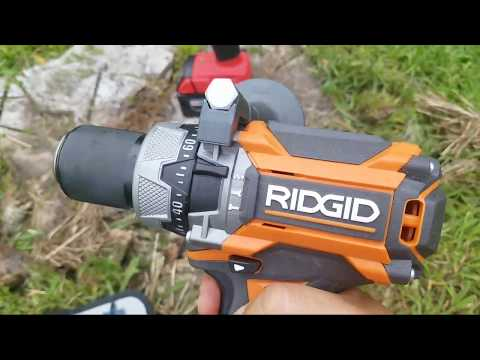 Milwaukee vs.Ridgid Brushless Hammer Drill ...You Gotta Be Kidding ??  LIVE !!!