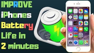 Easy ways to Improve iPhone's battery life specially iPhone 5s, iPhone 6, iPhone 6s iPhone 7 iOS 11