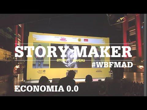 Story Maker | Economia 0.0 al World Business Forum | #WBFMAD