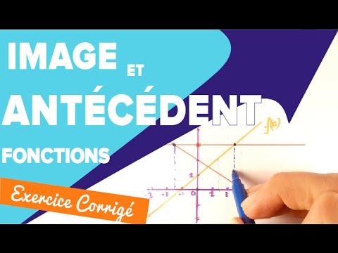 Image et Antécédent - Comment les calculer pour une fonction - Mathrix