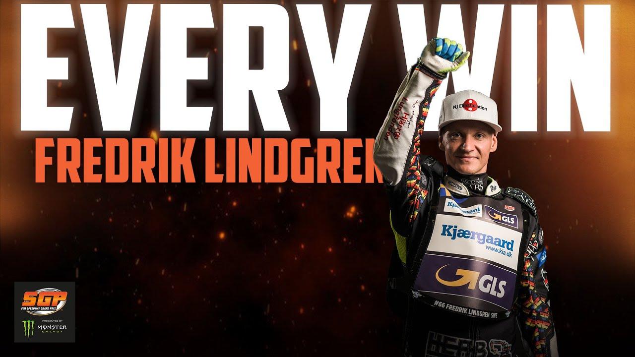 Every Fredrik Lindgren Win! | FIM Speedway Grand Prix