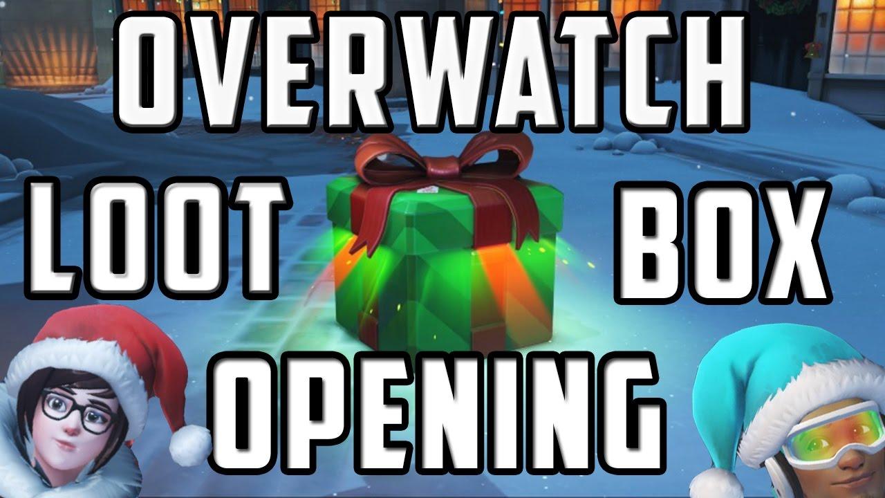Overwatch Loot Box Opening