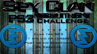 Spy Clan Recruitment Challenge.Spy Clan link in description