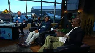 NFL Network Analyst Steve Smith, Sr. on His Media Night Experience - 1/30/18