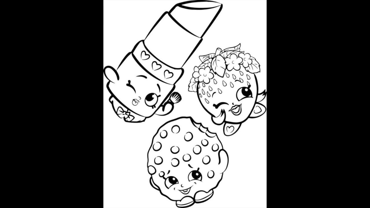 Dibujos De Shopkins Youtube