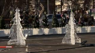 Уссурийск встретит год экологии искусственной елкой на центральной площади