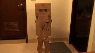 20120721力文的紙箱盔甲