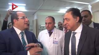 بالفيديو  وزير الصحة: المستشفيات القديمة كانت متهالكة ولا ترضي إنسانا