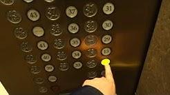 FUN, INTERESTING & FAST 1989 Fujitec Traction Elevators at U.S. Bank Centre, Seattle, WA