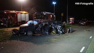 Dodelijk ongeval op parallelweg N377 in Nieuwleusen