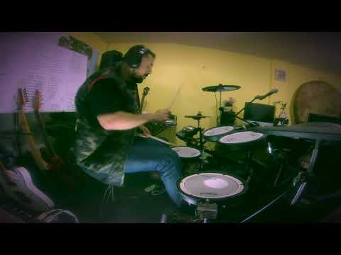 """VIRGIL DONATI """" Native Metal """"  Drum Cover"""