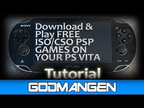 [PS Vita CFW Hack] Play ISO Game Backups on PS Vita [TN-V eCFW]