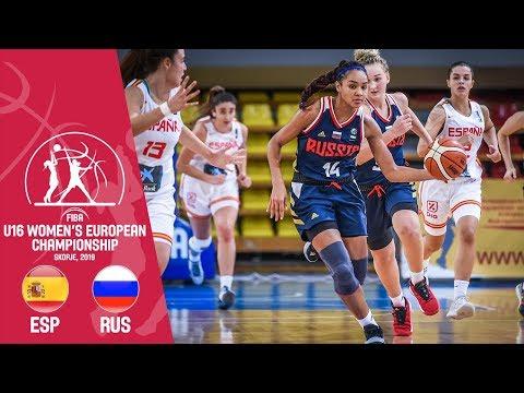 Spain v Russia – Full Game – FIBA U16 Women's European Championship 2019