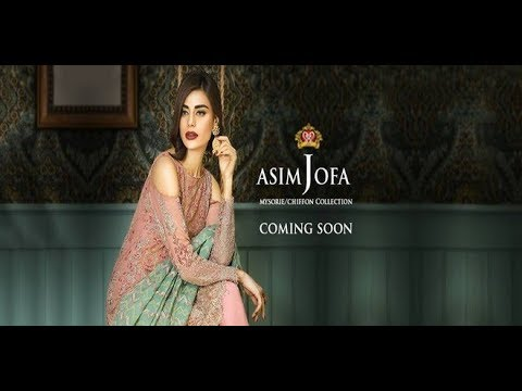 c305a39e3c Asim Jofa Mysorie Chiffon Collection 2017-18 Coming Soon - YouTube