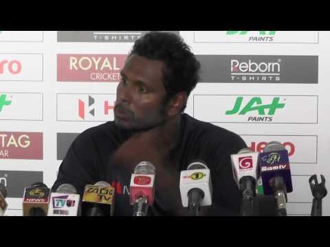 3rd ODI Pre Match Press Conference - Zimbabwe tour of Sri Lanka 2017