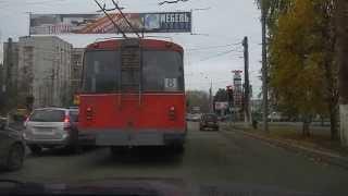 Борт 518 маршрута 8 город Киров после п.8.5 и п.8.7