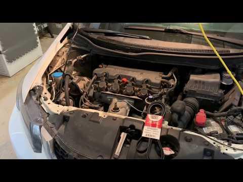 Serpentine Belt Change On 9th Gen Honda Civic 1.8L